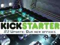 [Kickstarter update #2] Be the first people to see our new offices :)