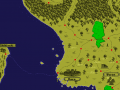 The Waste Land -  World map