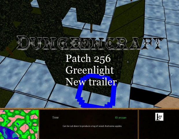 Patch 256, new trailer and Greenlight