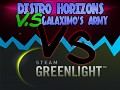 Distro Horizons Vs. Galaximo's Army is now on Steam Greenlight!