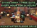 Free Game Every Hour During AA Kickstarter Pledge Drive
