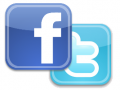 Facebook and Twitter Page