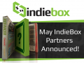 May IndieBox Partners Announced!