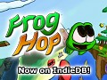 Frog Hop now on IndieDB!