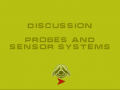 Discussion on Sensor systems