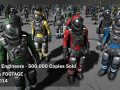 Space Engineers - 500,000 copies sold
