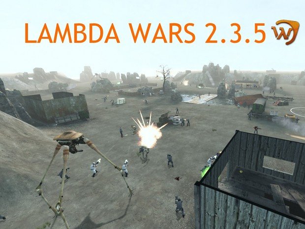 Lambda Wars 2.3.5 beta is out. Heading for Steam release, recruiting!