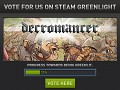Decromancer Launching on Steam Greenlight