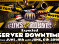 Expected Server Downtime from June, 4th until June, 6th 2014