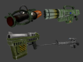 Unreal Tournament: 2341 first news post - Weapons preview
