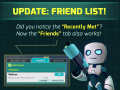 v0.3075 : Friend List, Recently Met players and more!