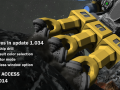 Update 01.034 - Space suit color selection, large ship drills, spectator mode