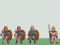 Super Roman Conquest - Gaul Enemy Lineup