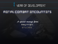 Aerial Combat Encounters: One year anniversary!