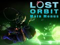 LOST ORBIT: Main Menu Art