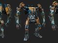 MK 1. Mech Paintwork Refresh