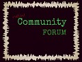 New Forum!