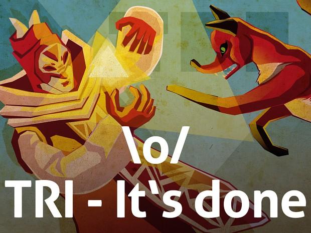 TRI - It's done!