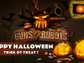 Guns and Robots in preparation for Halloween