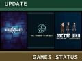 Update Status on work & games