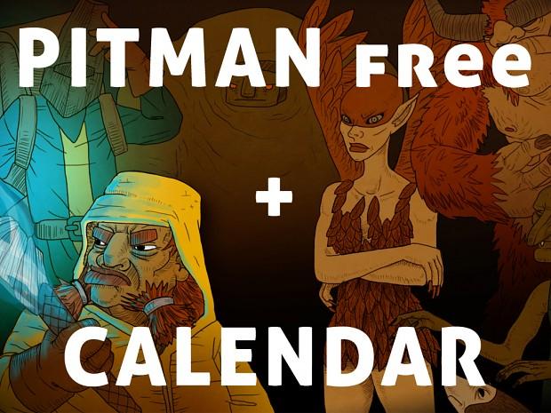 PITMAN for free today + Christmas Calendar