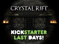 Crystal Rift Alpha 8 Released Today and Kickstarter Ends This Friday!