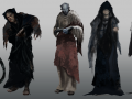 Character concepts: Early process and Uncanny features
