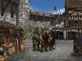 Progress Update: Village Screen and Mercenary Contracts - Dev Blog #37