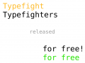 """Competitive typing game """"Typefighters"""" released for free"""