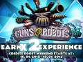 Earn x2 XP and x2 Credits! Two New Events in Guns and Robots Detailed