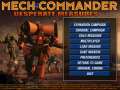 Play MechCommander Gold in wide resolution