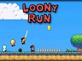 Loony Run, a mix between racing, battling and a platformer, now available!