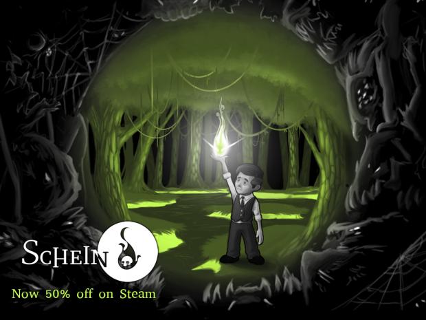 Schein now 50% off on Steam