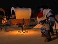 Paper Cowboys: Turning 2D into 3D