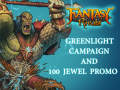 Fantasy Rivals Greenlight and 100 Jewel Promo