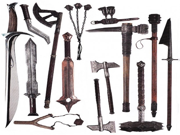 The Hobbit and Lord of the Rings Weapons