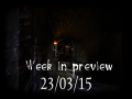 Week in preview - 23/03/15