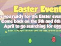 Easter Event coming up!