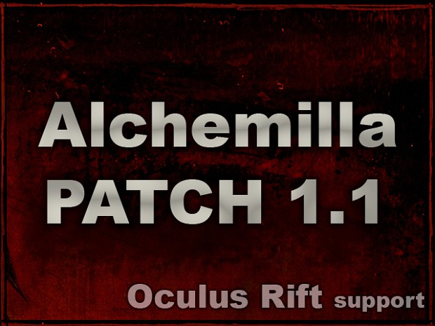 Alchemilla 1.1 is ready!