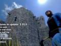 Update 02.013 – Round walls, Stone wall slope/top