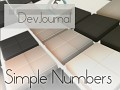 DevJournal - Simple Numbers