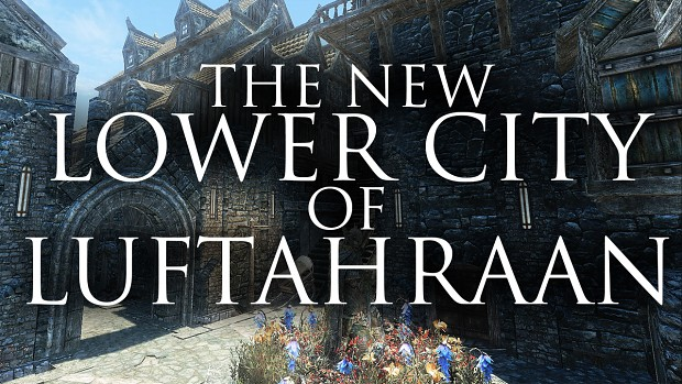 The New Lower City of Luftahraan. Courtesy of Double_Felix