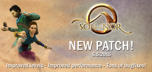New Patch! - Improved performance, improved levels, tons of bug fixes!