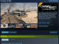 Europe At War released on Steam!