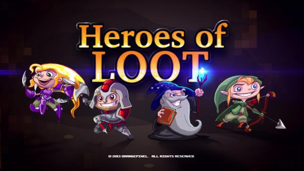 Heroes of Loot lands on Steam