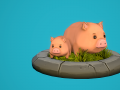 The Harvest: Piglet Animations