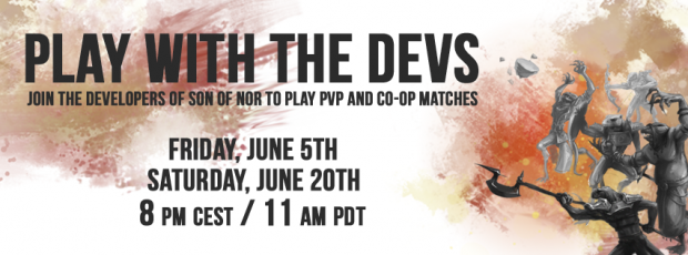 Play with the developers! June 5th & 20th