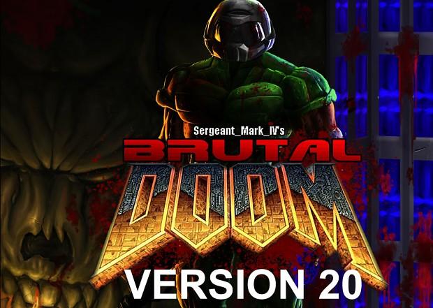 Brutal Doom version 20 released!