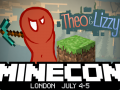 Get your diamond pickaxe ready, Theo & Lizzy are off to Minecon 2015!