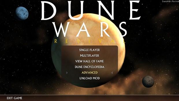 Dune Wars: Revival - the sleeper has awakened!
